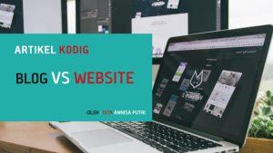 Blog VS Website – Apa yang Membedakan?