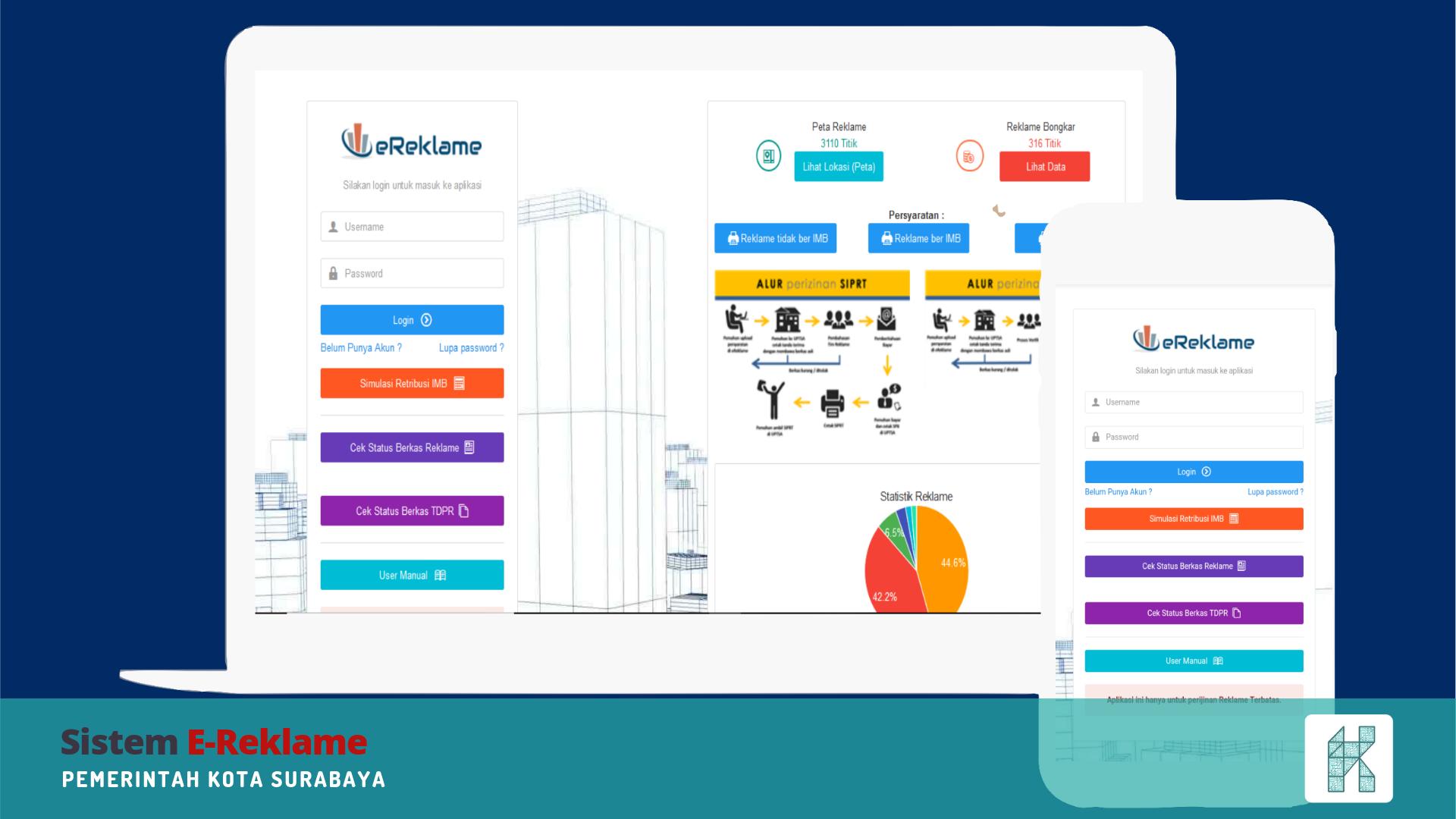 Sistem E-Reklame Pemerintah Kota Surabaya