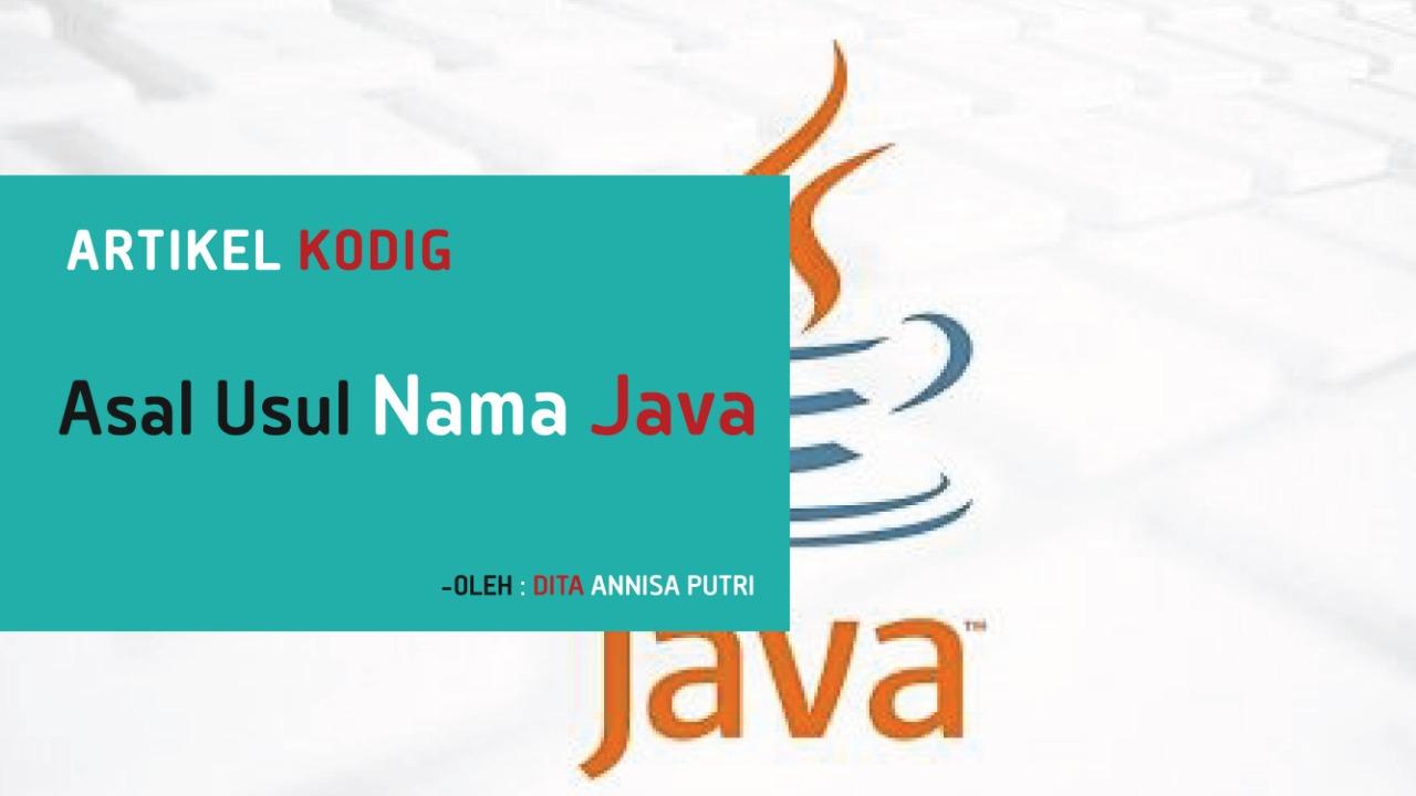 Java Name Origins